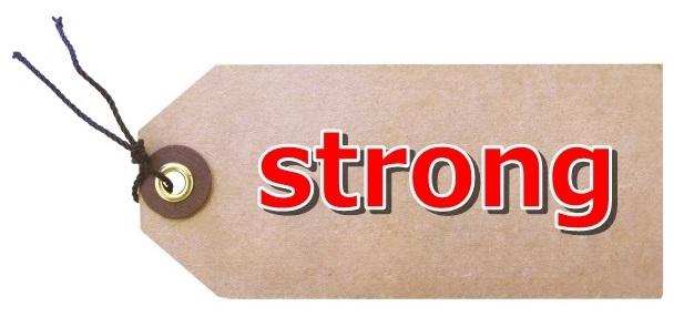 strongタグ
